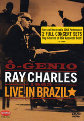 Ray Charles DVD - O Genio Live in Brazil on DVD