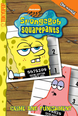 SpongeBob SquarePants: v. 4: Crime and Funishment by Steven Hillenburg image