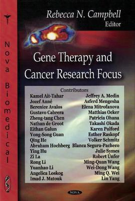 Gene Therapy & Cancer Research Focus