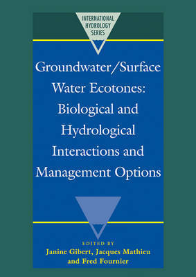 International Hydrology Series