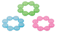 Nuby Icybite Soother Ring Teether - Single image