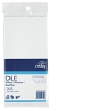 Croxley DLE Window Seal-Easi White Envelope - Pkt 100