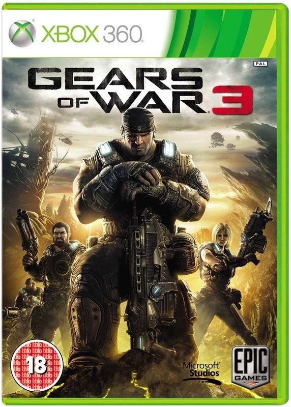Gears of War 3 for X360