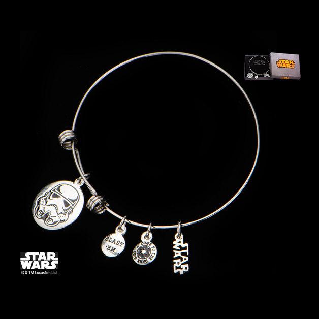 Star Wars Stormtrooper Stainless Steel Expandable Bracelet