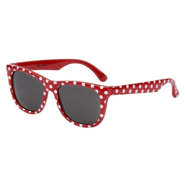 Eyetribe: Frankie Ray Sunglasses - Babies 0-18 months - Minnie Gadget (Red + Spot)
