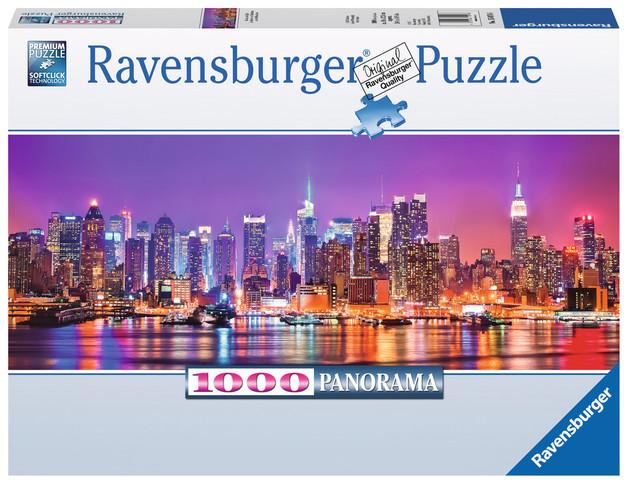 Ravensburger: Manhattan Lights - 1000pc Panorama Puzzle