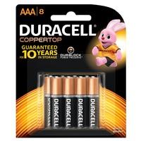 Duracell Coppertop AAA 8pk