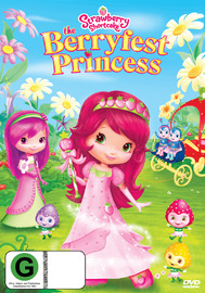 Strawberry Shortcake - Berryfest Princess on DVD image