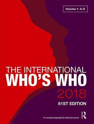 The International Who's Who 2018 image