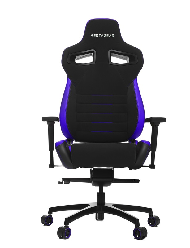 Vertagear Racing Series P-Line PL4500 Ergonomic Gaming Chair - Black/Purple for