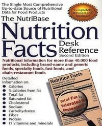 NutriBase Nutrition Facts Desk Reference by Art Ulene image