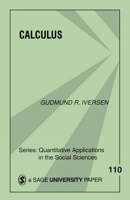 Calculus by Gudmund R Iversen image