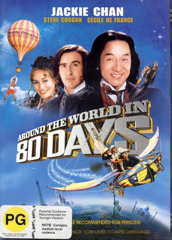 Around The World In 80 Days on DVD