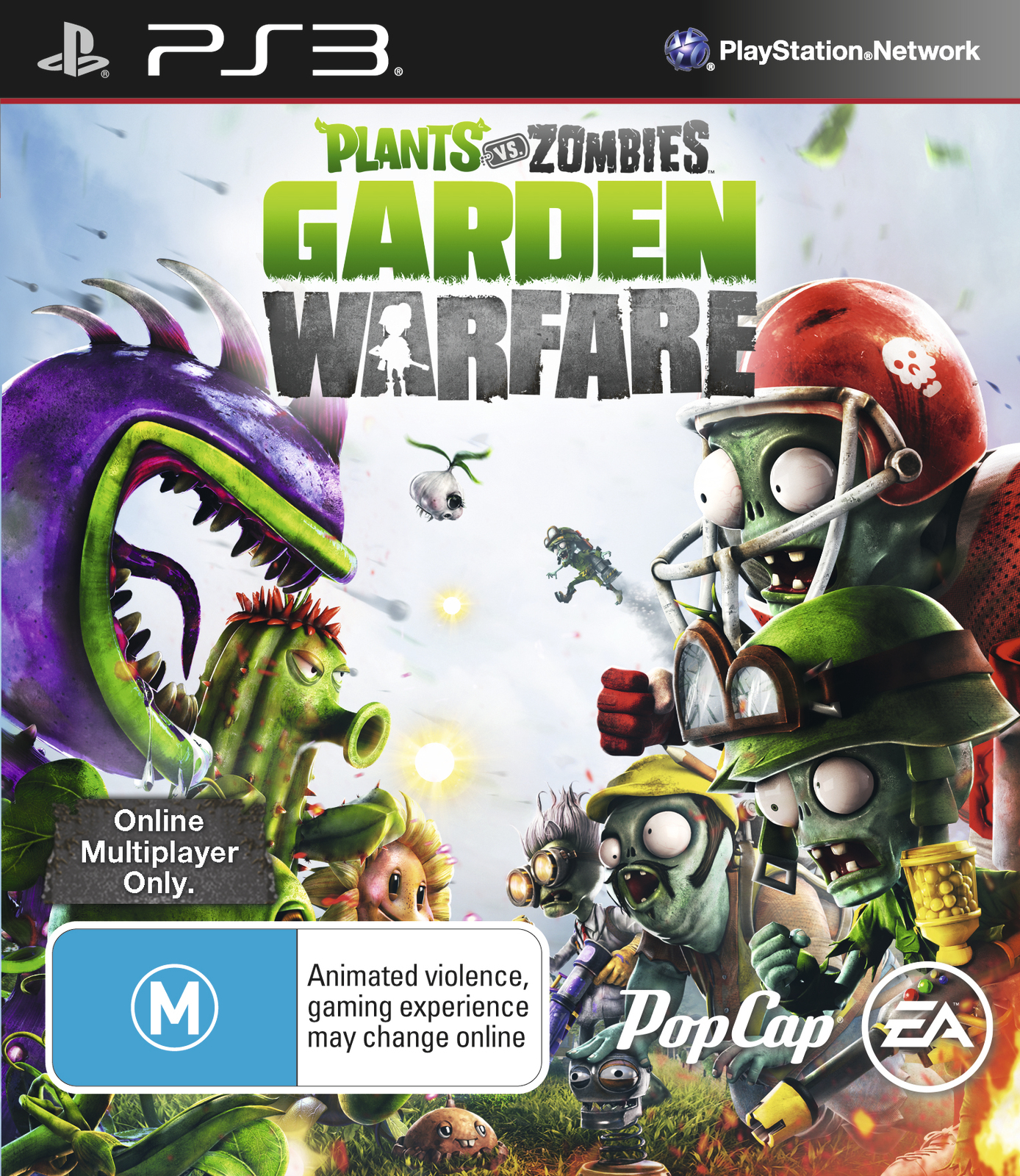 Plants Vs Zombies Garden Warfare Ps3 Buy Now At