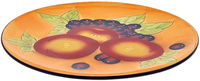 Tuscan Fruits Round Platter 36.5cm Gift Boxed