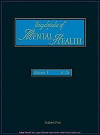 Encyclopedia of Mental Health, Volume 1 by Gerard Meurant