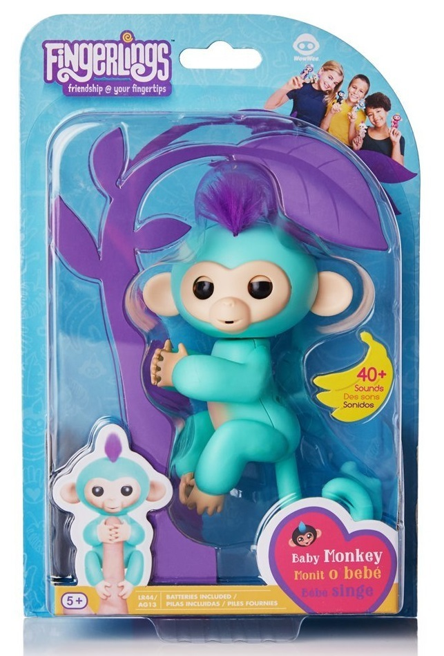 Fingerlings: Interactive Baby Monkey - Zoe image