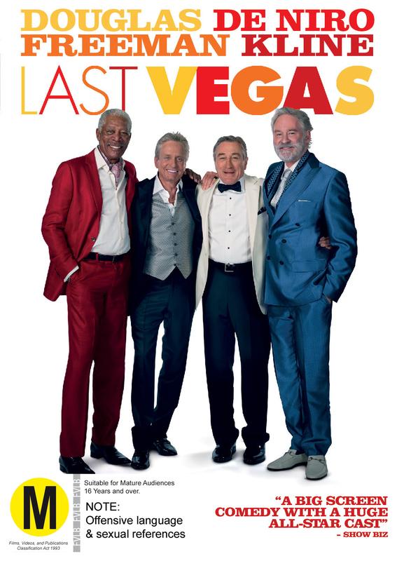 Last Vegas on DVD