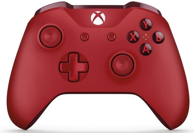 Xbox One Wireless Controller - Red (with Bluetooth) for Xbox One