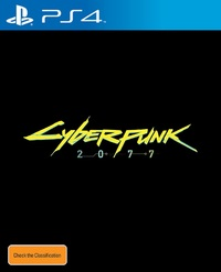 Cyberpunk 2077 for PS4 image