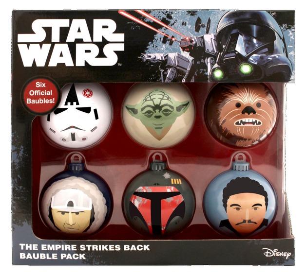Star Wars The Empire Strikes Back Christmas Ornament Set