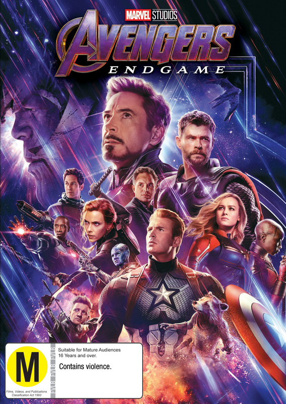Avengers: Endgame on DVD