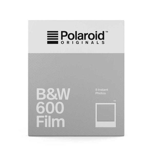 Polaroid: Originals B&W Film for 600 Cameras - 8 Photos