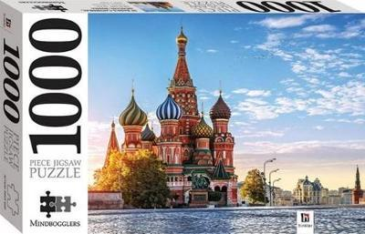 Mindbogglers: 1000-Piece Puzzle - St Basils Cathedral, Moscow, Russia