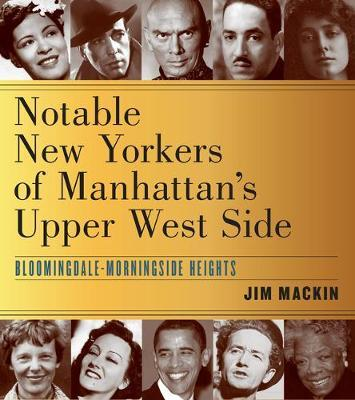 On the Streets Where They Lived by Jim Mackin