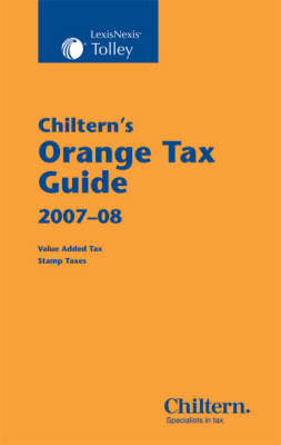 Chiltern's Orange Tax Guide: 2007-2008 image