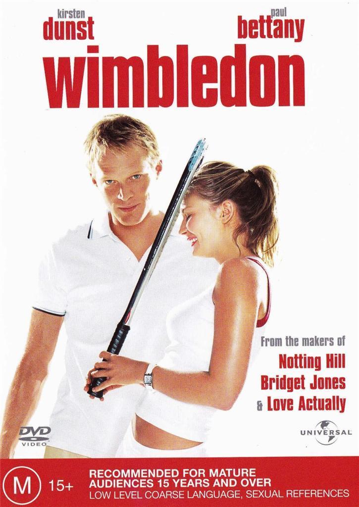 Wimbledon on DVD image