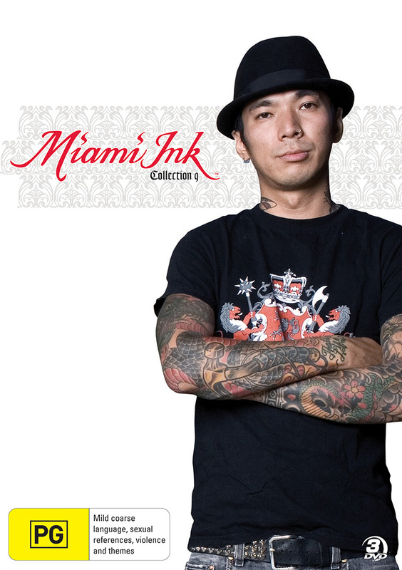 Miami Ink - Collection 9 (Discovery Channel) (3 Disc Set) on DVD