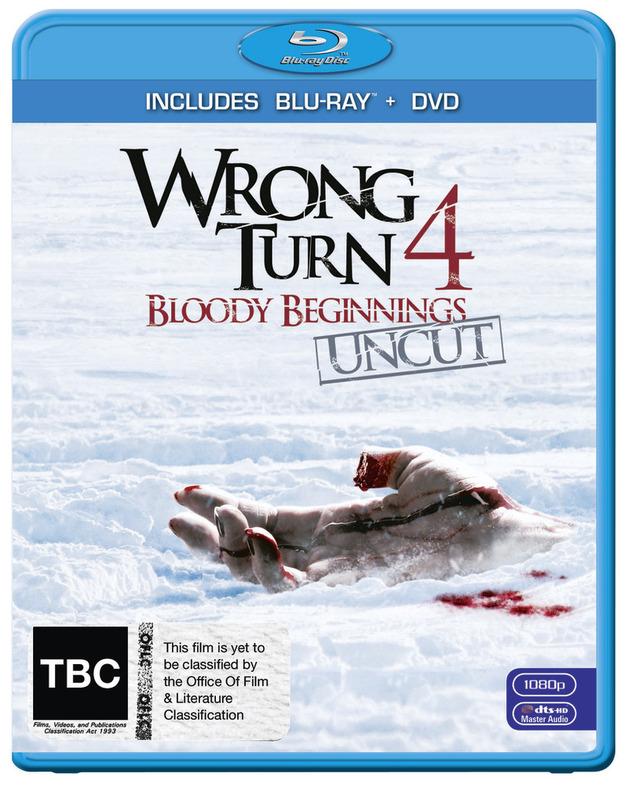 Wrong Turn 4: Bloody Beginnings - BD/DVD Combo on DVD, Blu-ray