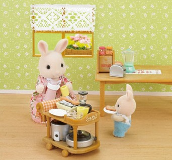 Sylvanian Families: Kitchen Cookware Set
