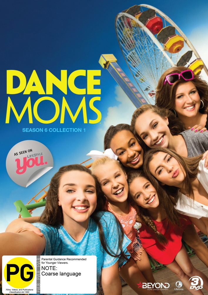 Dance Moms: Season 6 - Collection 1 on DVD image