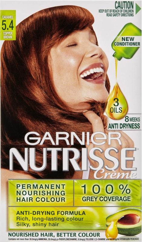 Buy Garnier Nutrisse Hair Colour 54 Caramel At Mighty Ape Nz