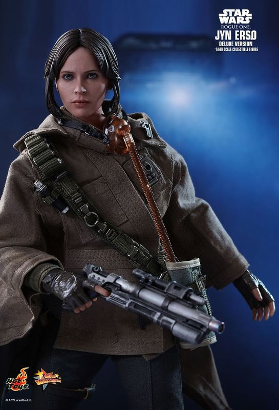 """Star Wars: Rogue One - Jyn Erso (Deluxe Version) - 12"""" Scale Figure"""