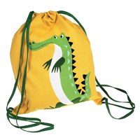 Rex Drawstring Bag (Crocodile)