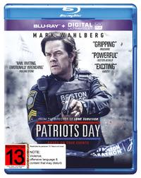 Patriots Day (Blu-ray + Ultraviolet) on Blu-ray