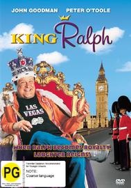 King Ralph on DVD