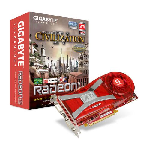 Gigabyte GB X1950XTX 512MB    PCIE image