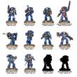 Warhammer 40,000: Space Marine Heroes Series #1 - Blind Box