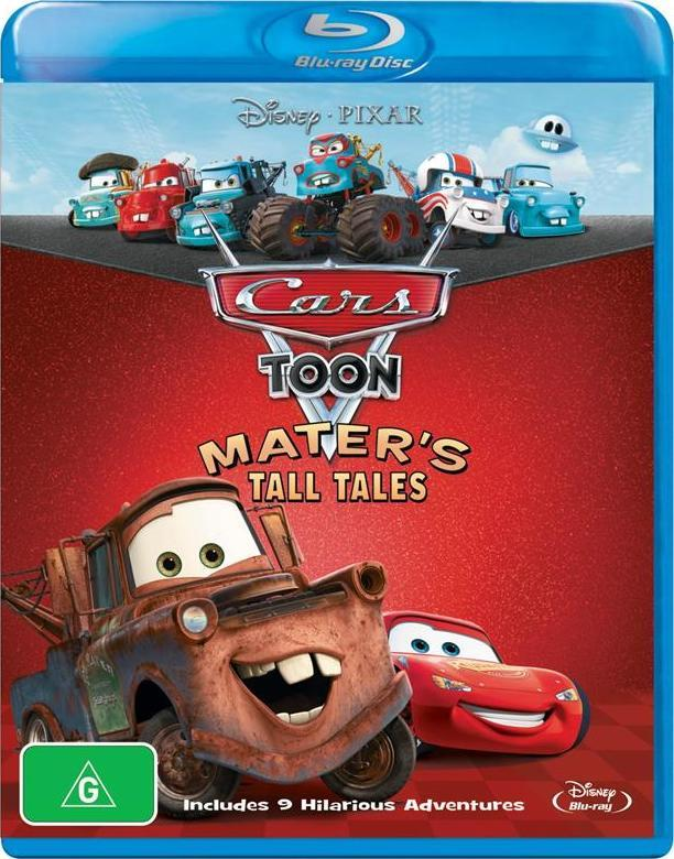 Cars Toon Collection: Mater's Tall Tales on Blu-ray