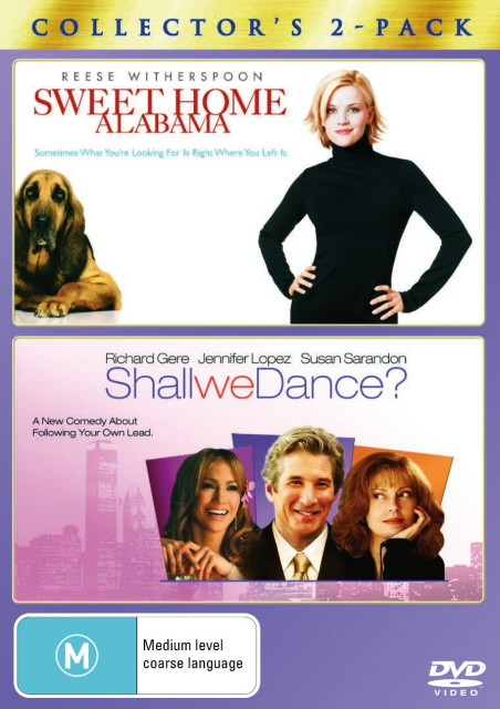 Sweet Home Alabama / Shall We Dance? (2004) - Collector's 2-Pack (2 Disc Set) on DVD image