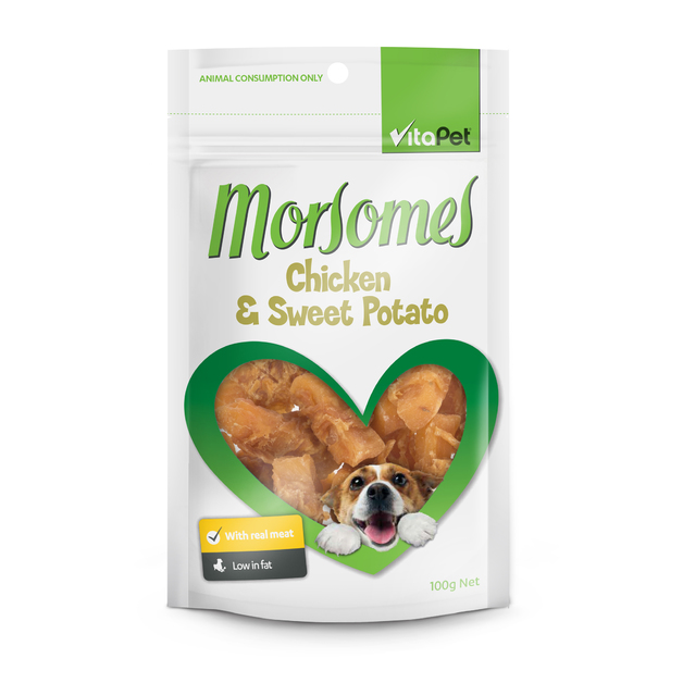 Vitapet: Morsomes Chicken & Sweet Potato (100g)