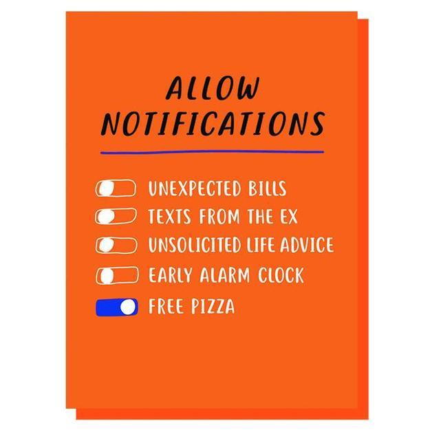Graph: Allow Notifications Multi-Purpose Card