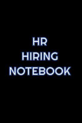 HR Hiring Notebook by Simply Career Notebooks