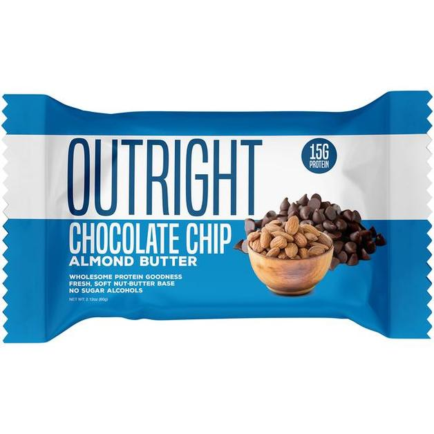 Outright Protein Bar - Choc Chip Almond Butter (60g)