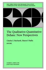 The Qualitative-Quantitative Debate: New Perspectives by Charles S. Reichardt image