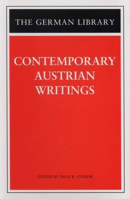 Contemporary Austrian Writings by Ingo Roland Stoehr